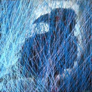 corbeau sous la pluie - se retirer en paix derrière son rideau de pluie - dripping -gilbert bellefeuille