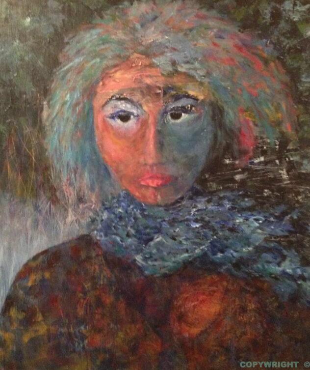 art-peinture-tableau-personnage-femme-Hélène Patenaude