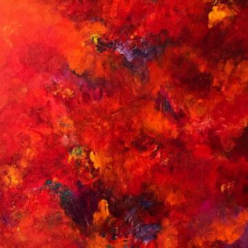 oeuvres dans galerie de Lise Brassard