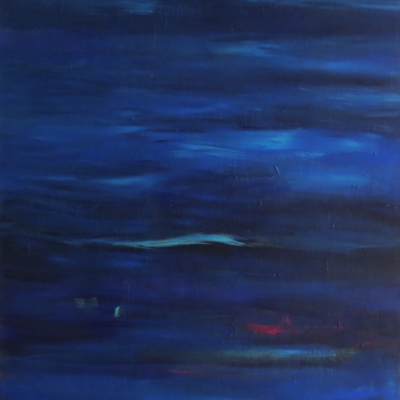 art-peinture- abstraction-tableau-on laisse tout derrière, le passé est le passé - Lise Brassard