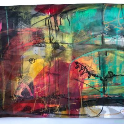 art-peinture- abstraction-tableau- Hélène Patenaude