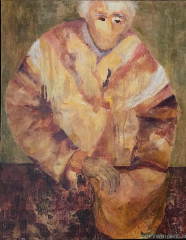 art-peinture-acrylique- personnage-homme-