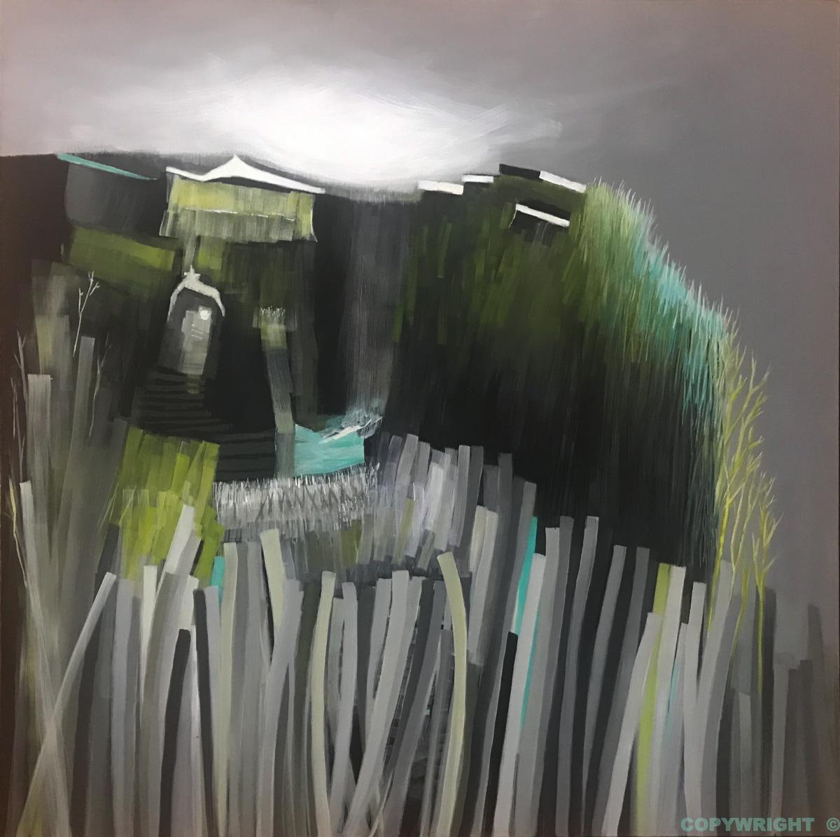 art-peinture- abstraction-tableau-paysage - Nathalie Noël